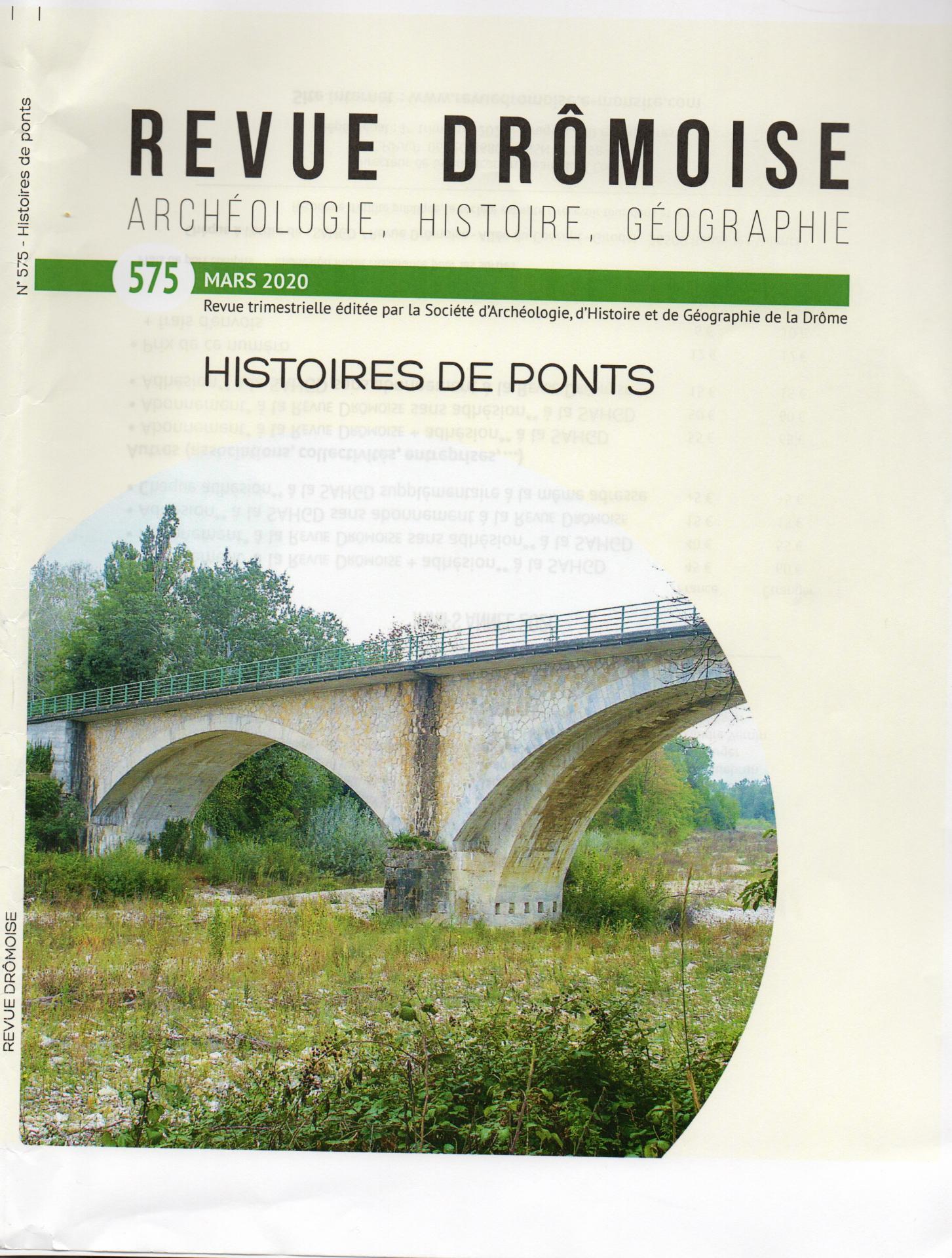 Revue drômoise n° 575